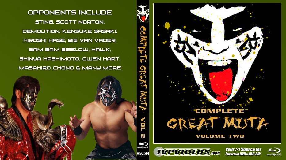 Complete Great Muta V.2 (Blu-Ray with Cover Art)